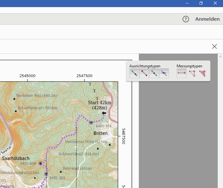 Verschiedene Messarten in Adobe Acrobat